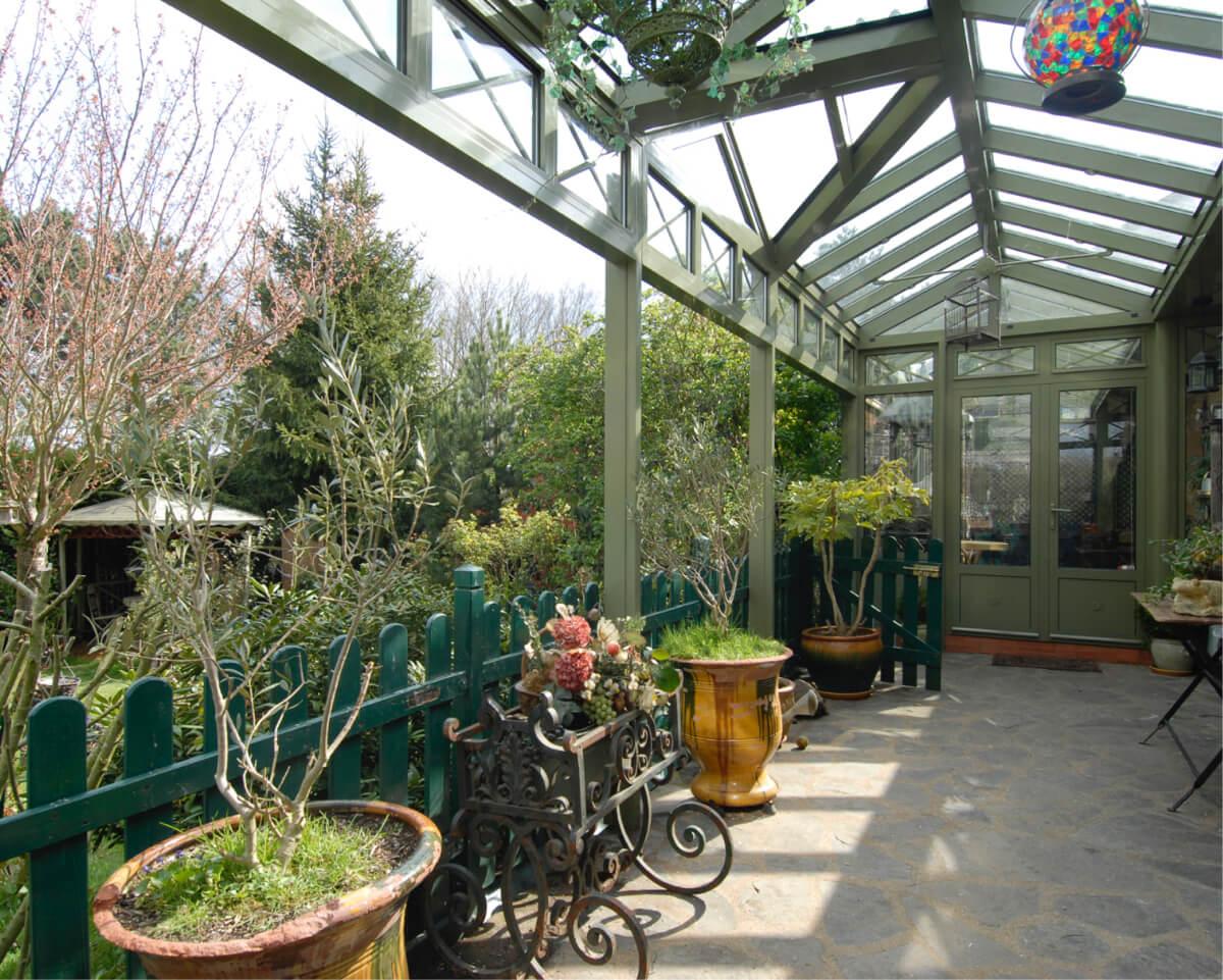 Terrasoverkapping ombouwen tot veranda