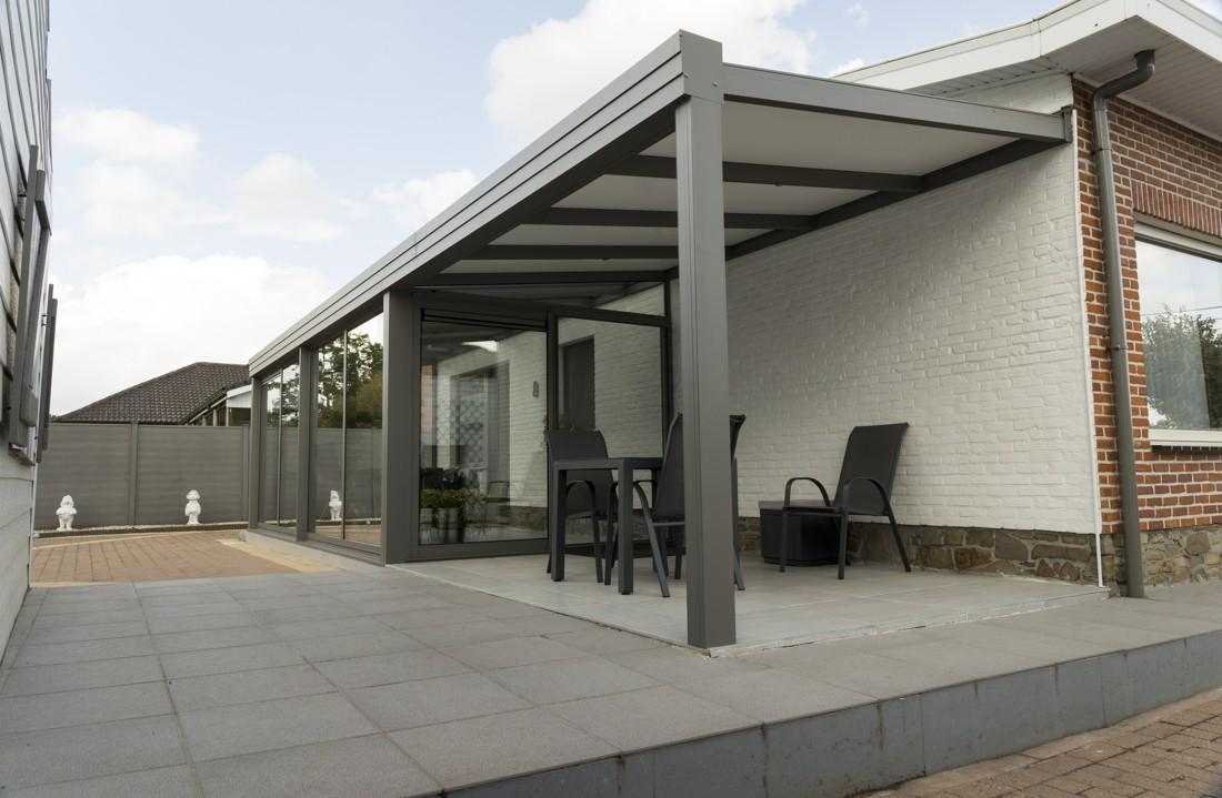 Veranda met terrasoverkapping